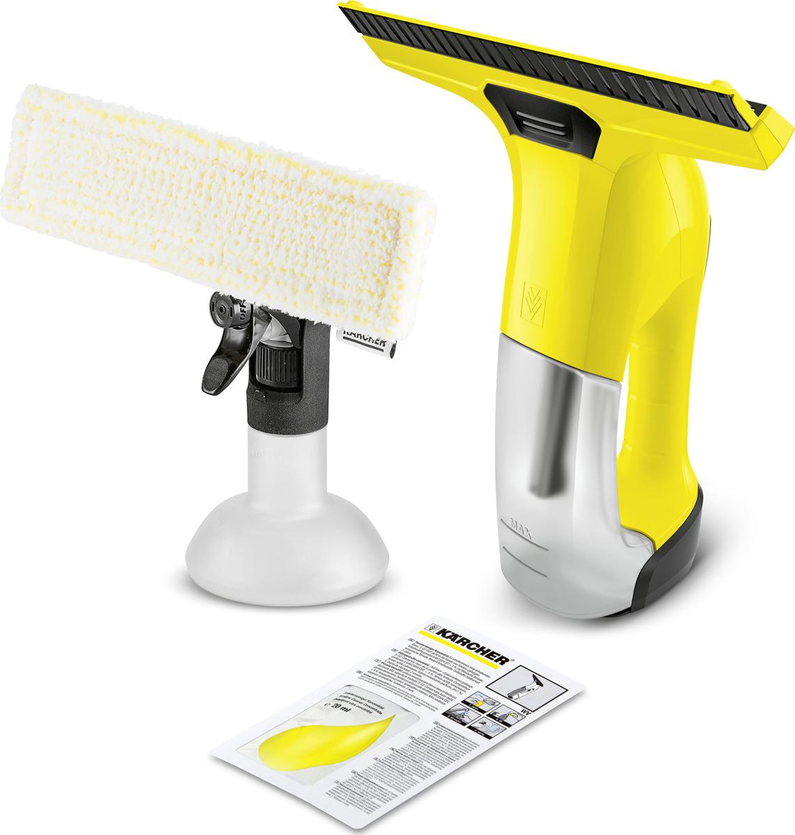 Стеклоочиститель Karcher WV 6 Plus, 1.633-510.0, желтый, черный цена