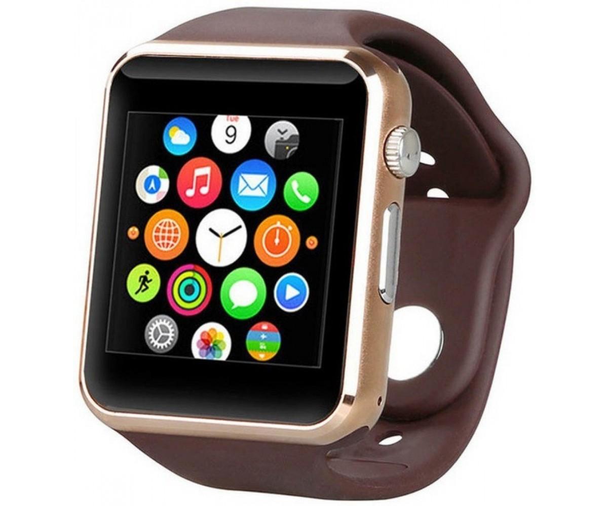 Умные часы ZDK A1 (Android, IOS, Динамик, Микрофон, SIM, MicroSD, Камера) цена и фото