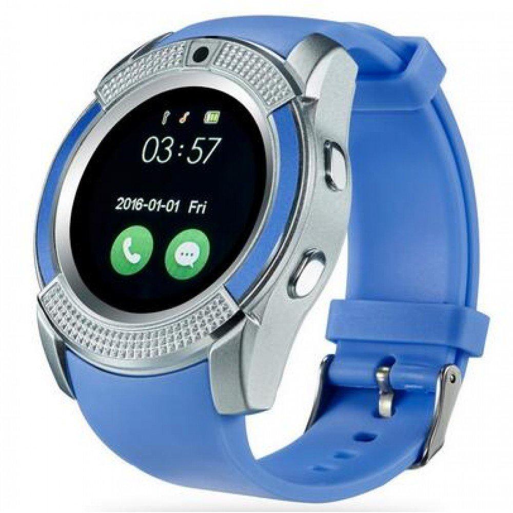 Фото - Умные часы ZDK V8 blue умные часы zdk y1s light blue