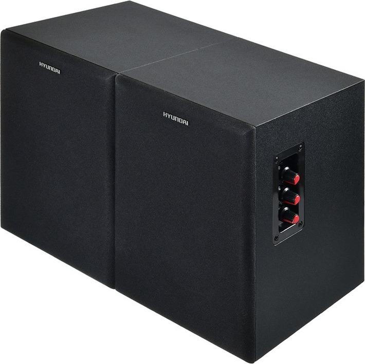 Комплект акустики Hyundai H-HA160 2.0, 55 Вт, черный hyundai h ha200 акустическая система