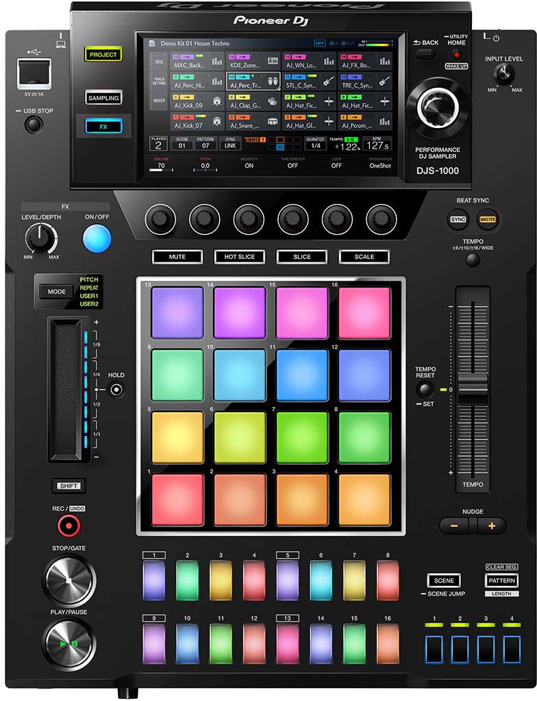 Микшерный пульт Pioneer DJS-1000 цена и фото