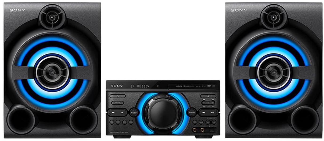 Минисистема Sony MHC-M60D, черный цена и фото