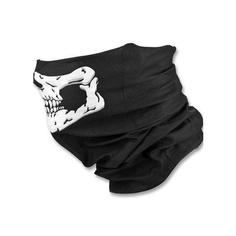Маска защитная Маска для активных видов спорта, черный, белый маска медицинская защитная latio классик 50шт