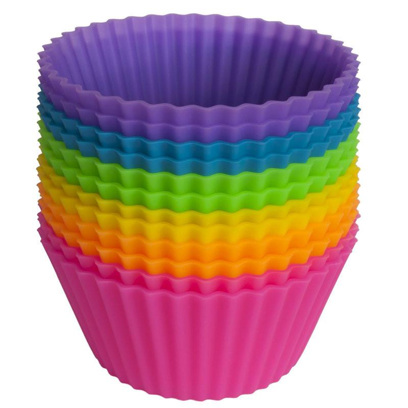 Форма для выпечки Круглая, разноцветный