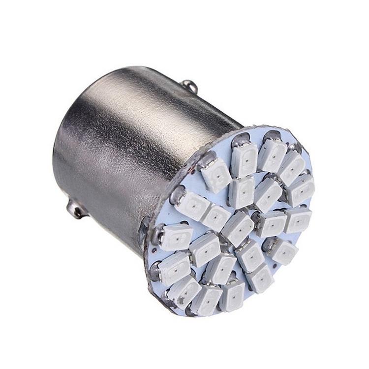 Лампа автомобильная Светодиодная 1156 1206 SMD merdia 1156 3w 150lm 22 x smd 1206 led white light car tail light brake lamp 2 pcs 12v