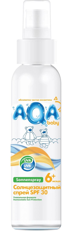 Спрей для ухода за кожей AQA baby Солнцезащитный спрей SPF 30