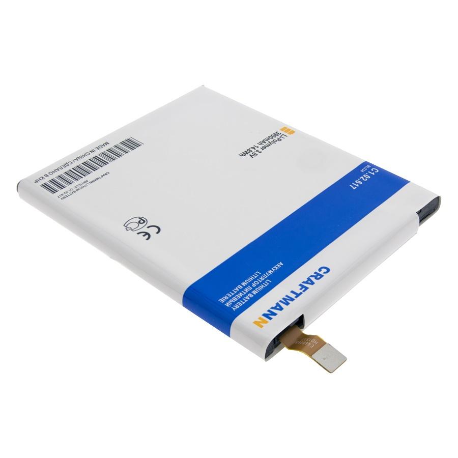 Аккумулятор для телефона Craftmann BL234 для Lenovo P70, P70t, A5000, Vibe P1m цена