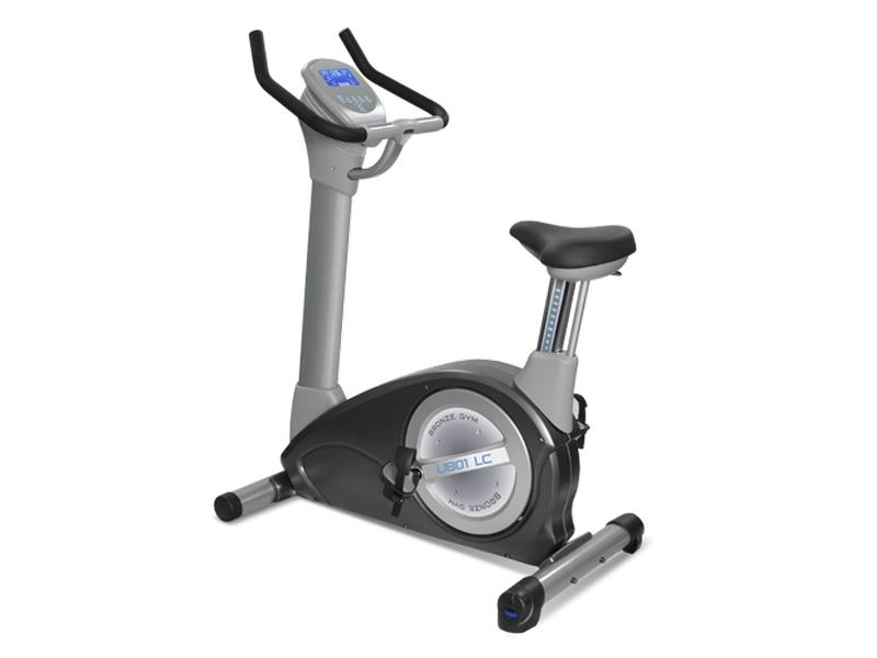 Велотренажер Bronze Gym U801 LC, серый, черный велотренажер bronze gym u801 lc