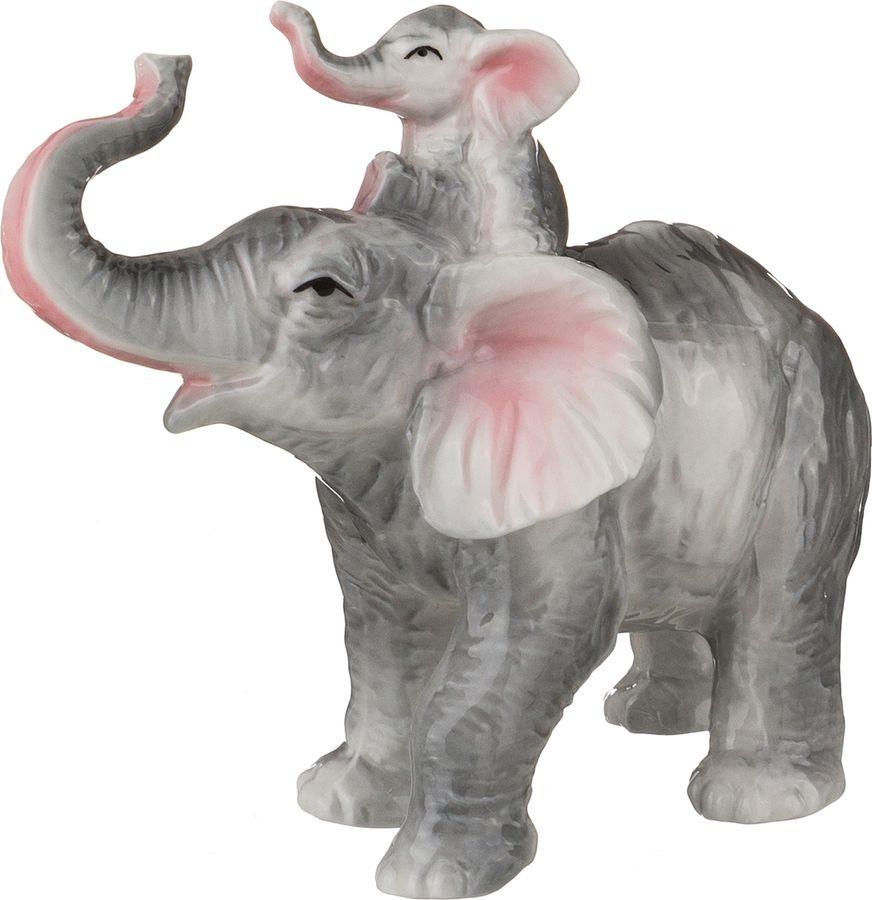 Фигурка декоративная Lefard Слон, 149-311, 13 х 7 х 13 см цена 2017