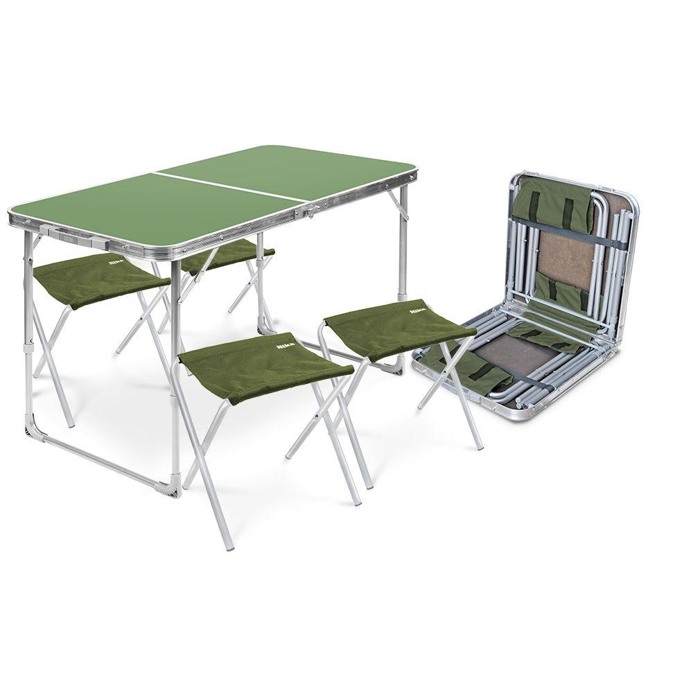 Набор складной мебели Ника Комплект мебели складной, зеленый