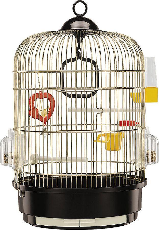 клетка для птиц ferplast regina, антик