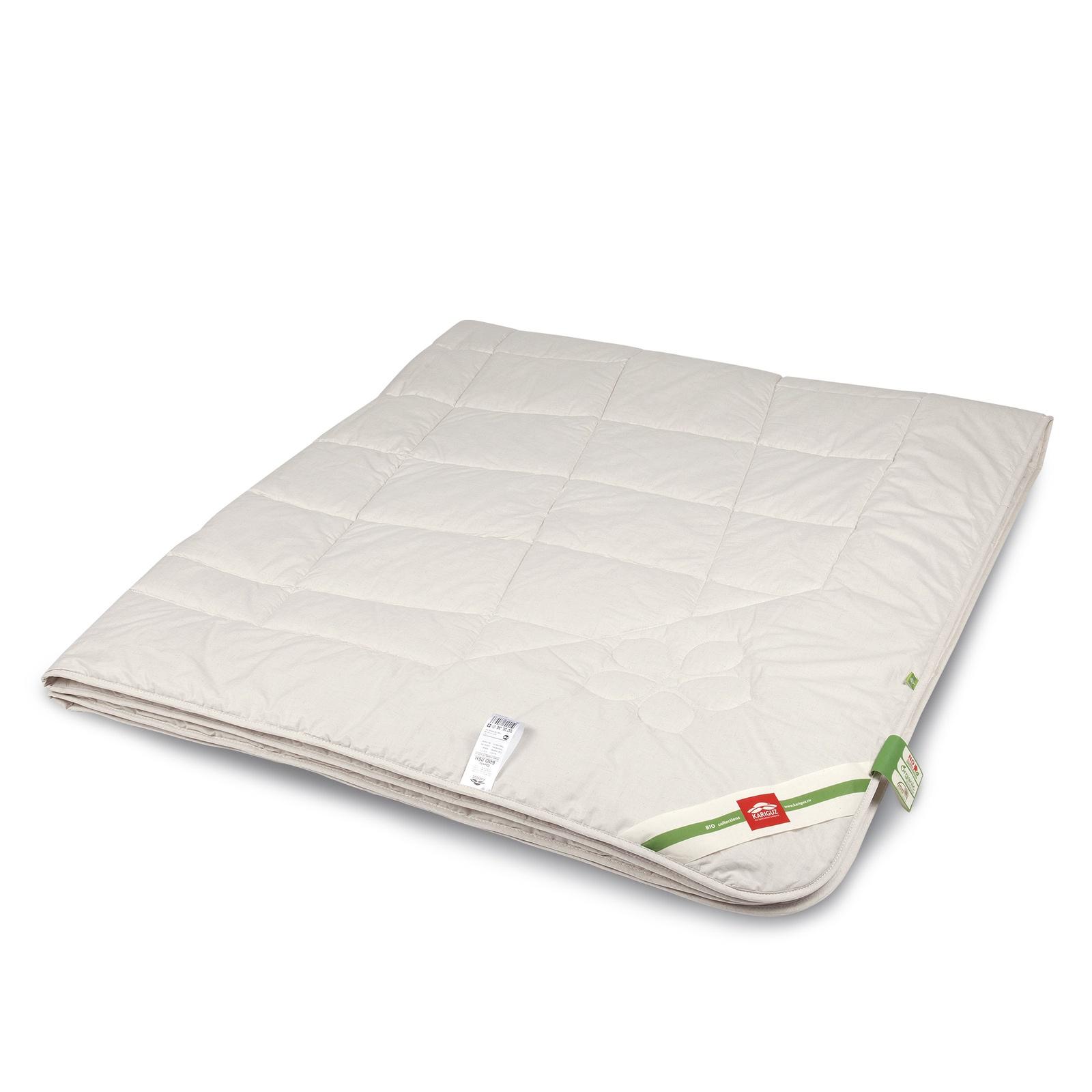 Одеяло KARIGUZ Био Лён, бежевый чехол на изголовье кровати из стиранного льна mereson