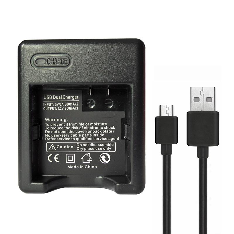 Зарядное устройство для аккумуляторов GoodChoice Xiaomi Yi 4k, Yi 4K+, Yi Lite видеорегистратор yi car