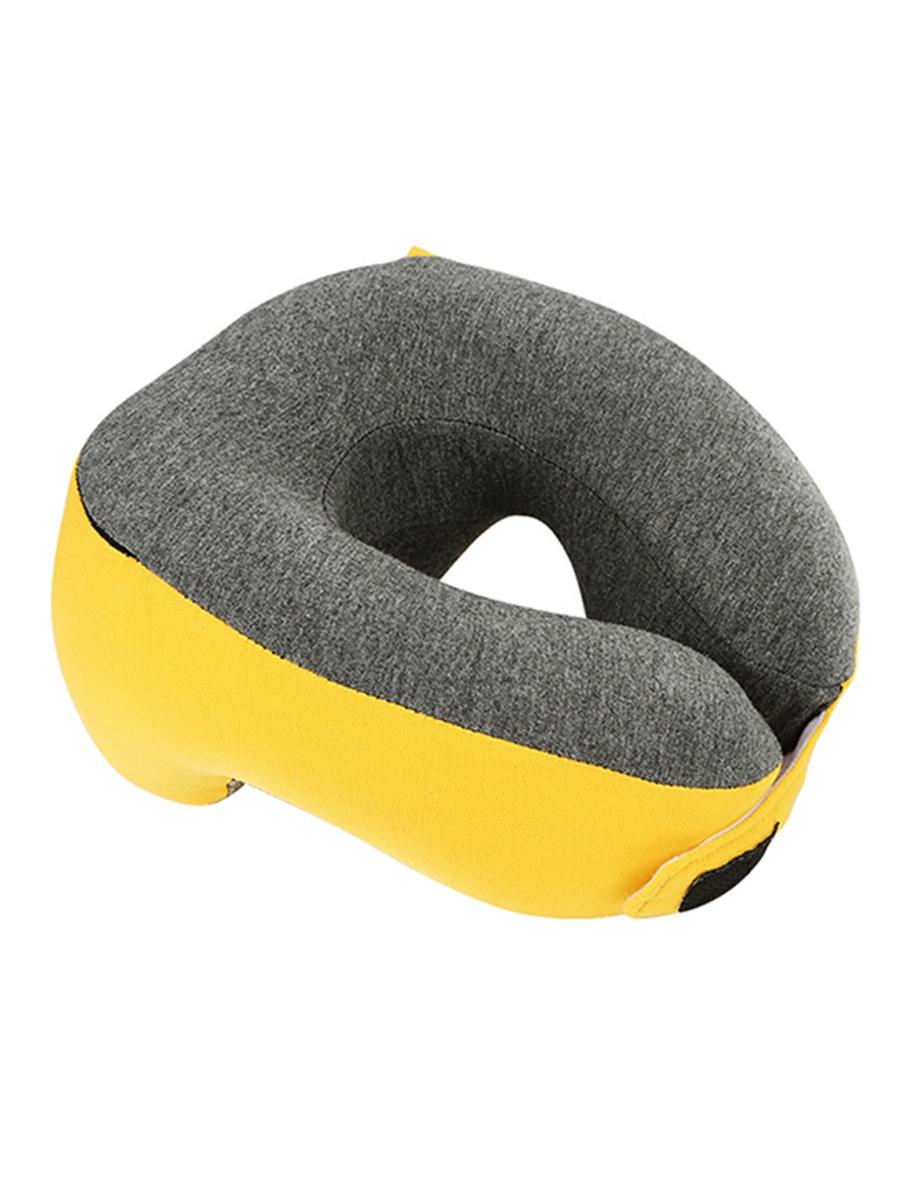Подушка для шеи Mettle HNOS, желтый подушка для шеи дерево счастья долгая дорога желтый