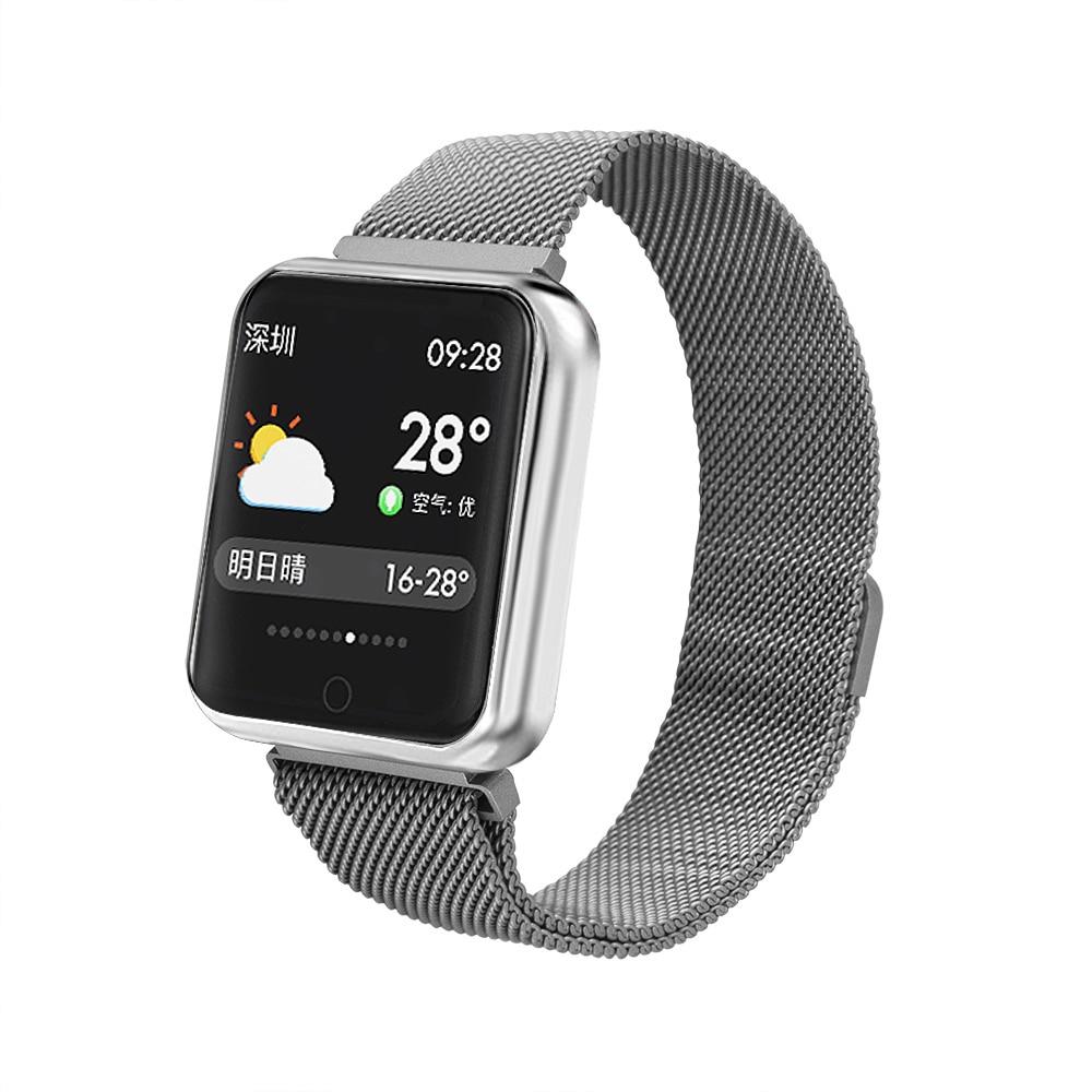 Умные часы ZUP Watch, серебристый смарт часы samsung galaxy gear s3 frontier sm r760 1 3 титан матовый черный [sm r760ndaaser]