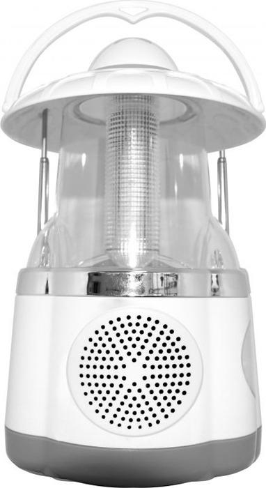 Радиоприемник портативный Hyundai, H-RLC140, белый, серебристый
