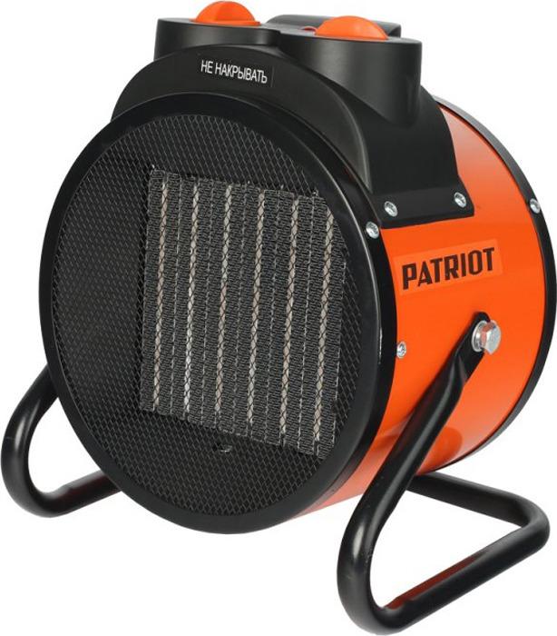 Тепловая пушка электрическая Patriot PTR 5S, оранжевый, 3000 Вт