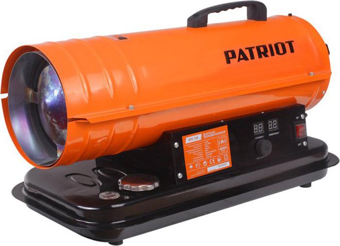 Тепловая пушка дизельная Patriot DTC-125, оранжевый, 15000 Вт
