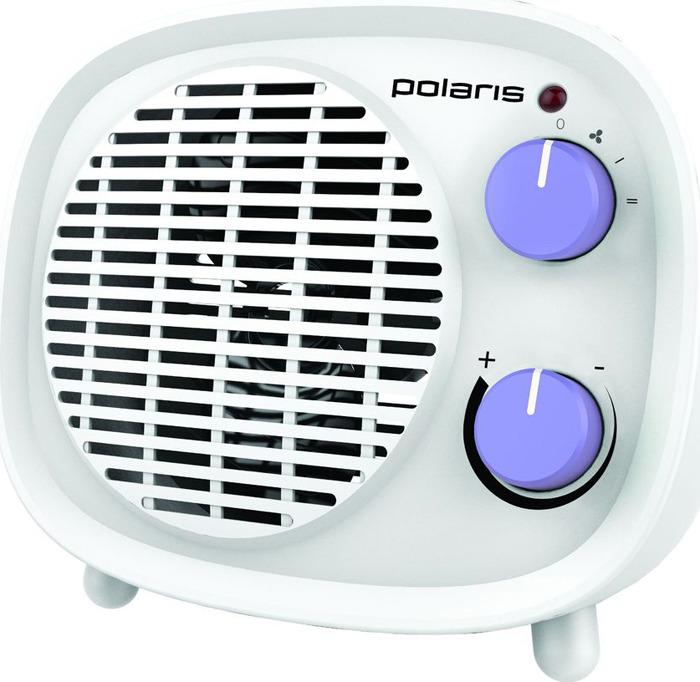 Тепловентилятор Polaris PFH 2062, белый, фиолетовый, 1800 Вт Polaris