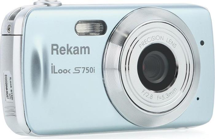 Фотоаппарат Rekam iLook S750i, серый цена