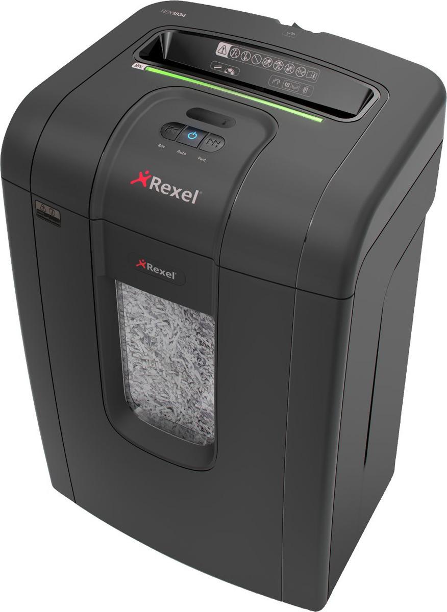 Шредер Rexel Mercury RSX1834, черный