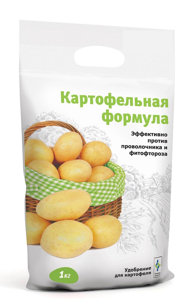 Удобрение Картофельная формула для картофеля 1кг, серый удобрение минеральное калиевая селитра 1кг с сульфатом магния