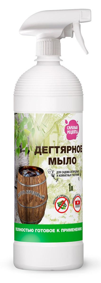 Удобрение Садовые рецепты Табачное мыло, светло-коричневый средство защитное фитоверм 4мл от вредителей