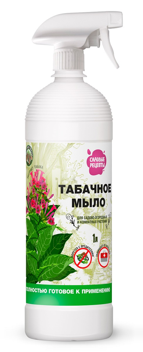 Удобрение Садовые рецепты Дегтярное мыло, темно-коричневый средство защитное фитоверм 4мл от вредителей