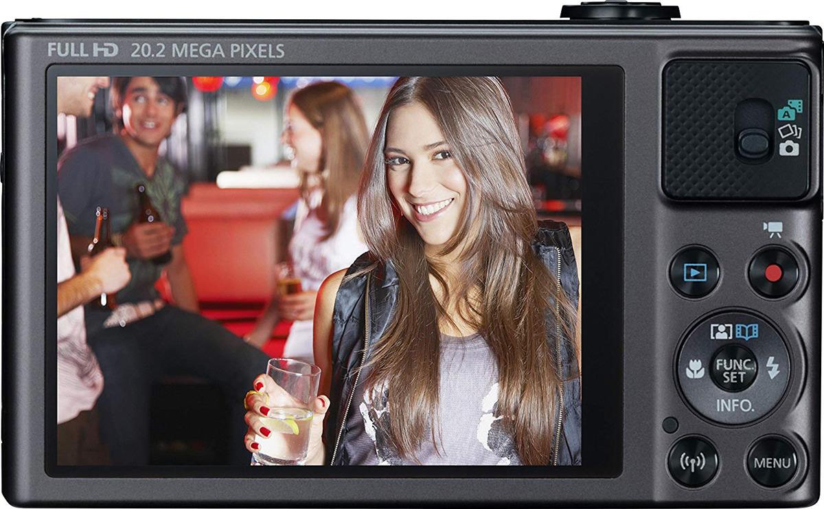 Фотоаппарат Canon PowerShot SX620 HS, черный Canon