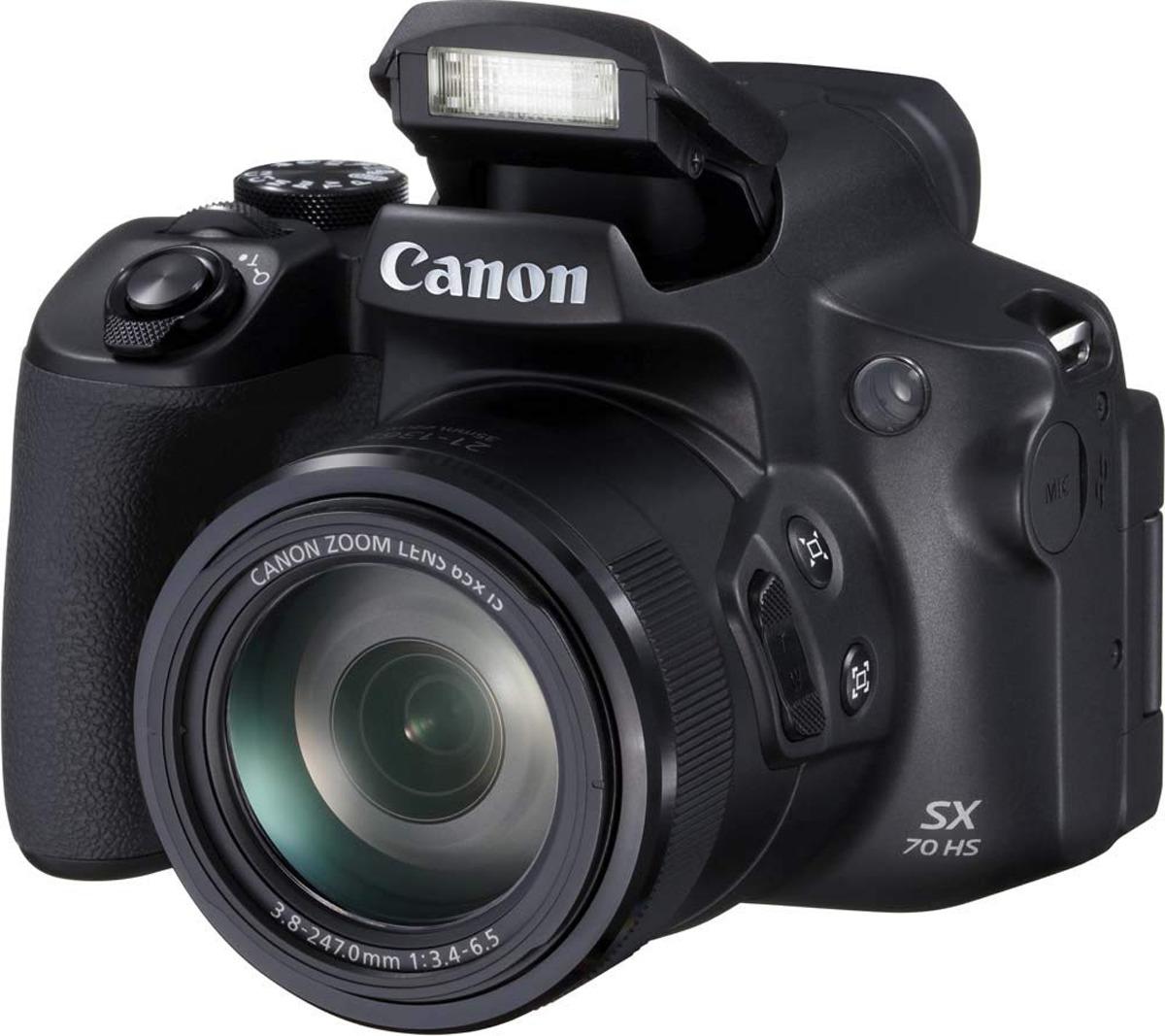 Фотоаппарат Canon PowerShot SX70 HS, черный