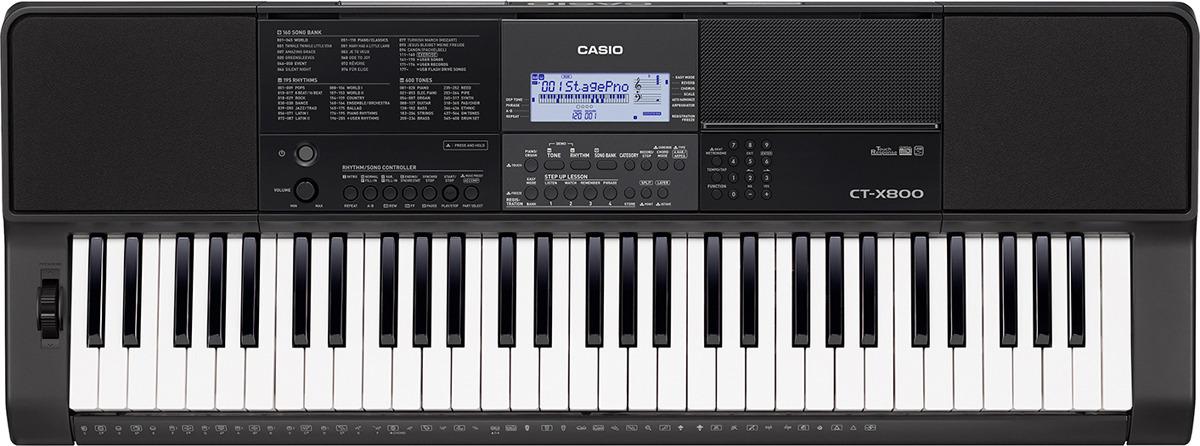 все цены на Синтезатор Casio, черный, CT-X800 онлайн