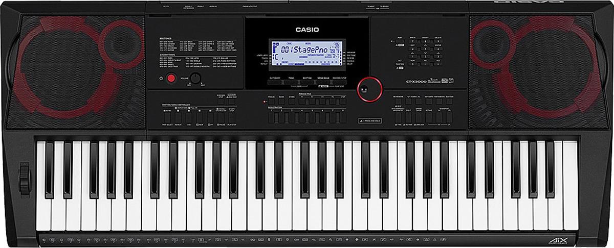 Синтезатор Casio, черный, CT-X3000 видеорегистратор x3000