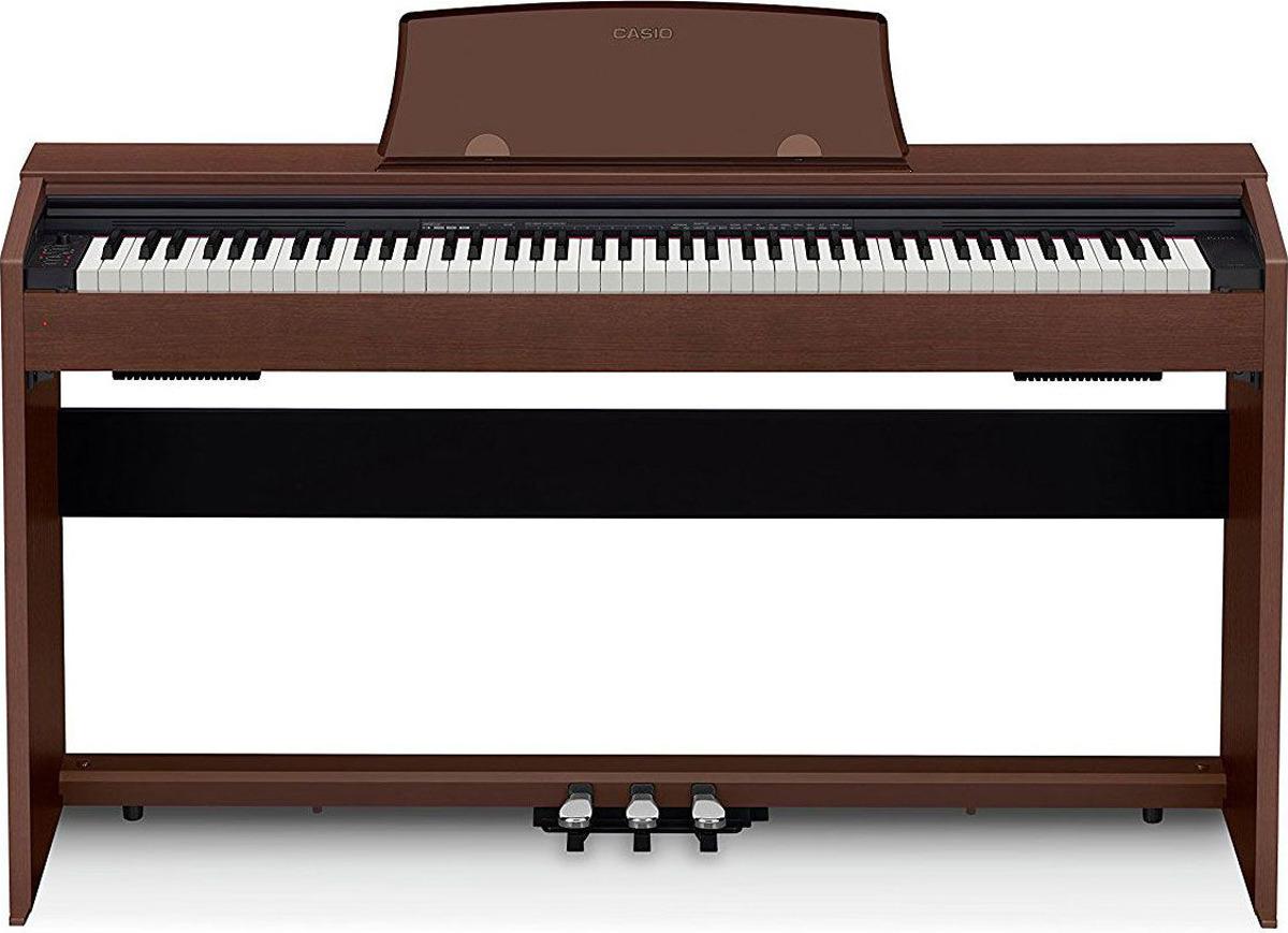 Цифровое фортепиано Casio Privia, коричневый, PX-770BN