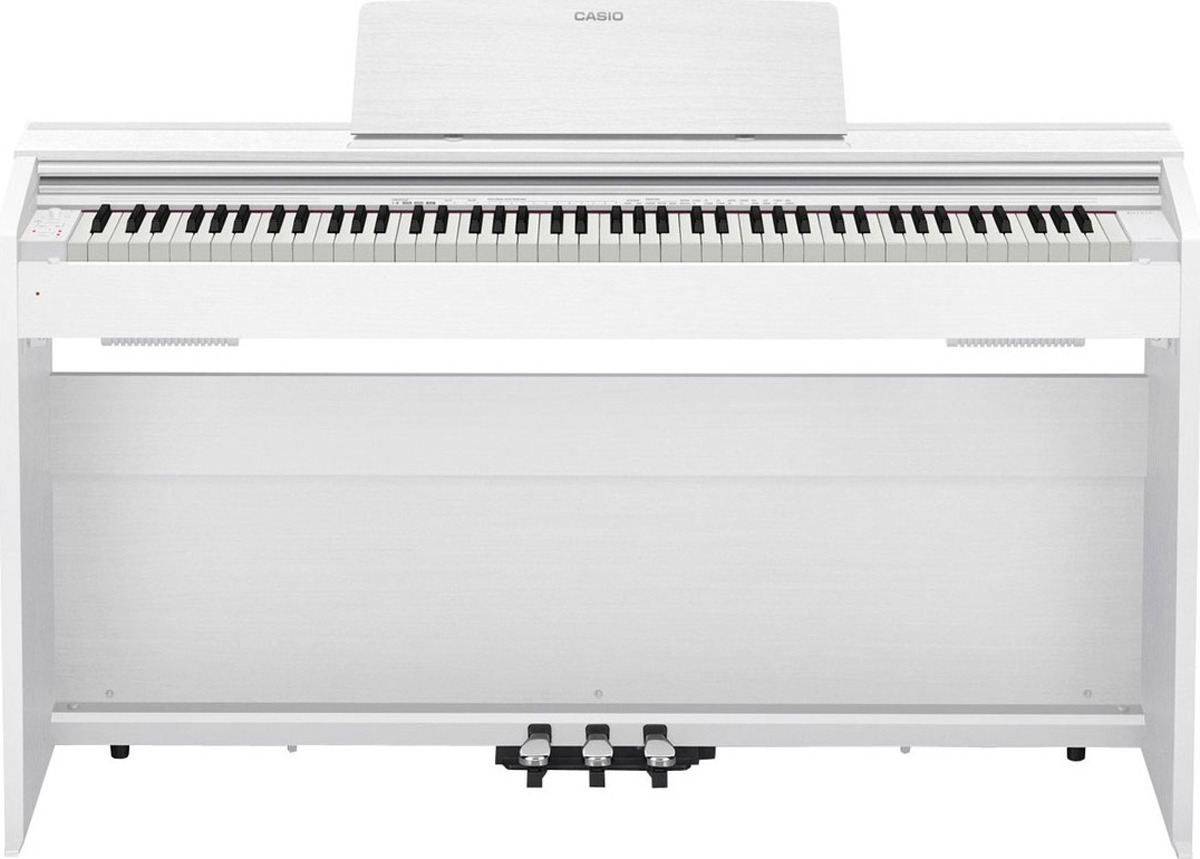 Цифровое фортепиано Casio Privia, белый, PX-870WE