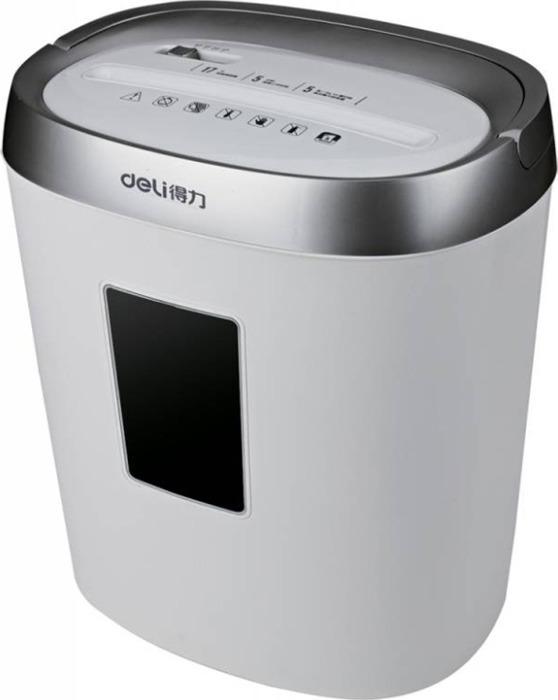Шредер Deli Smart E9929-EU, серый, серый металлик ламинатор deli e3893 eu