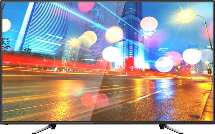 Телевизор Hartens HTV-50F01-T2C/A7 50, черный