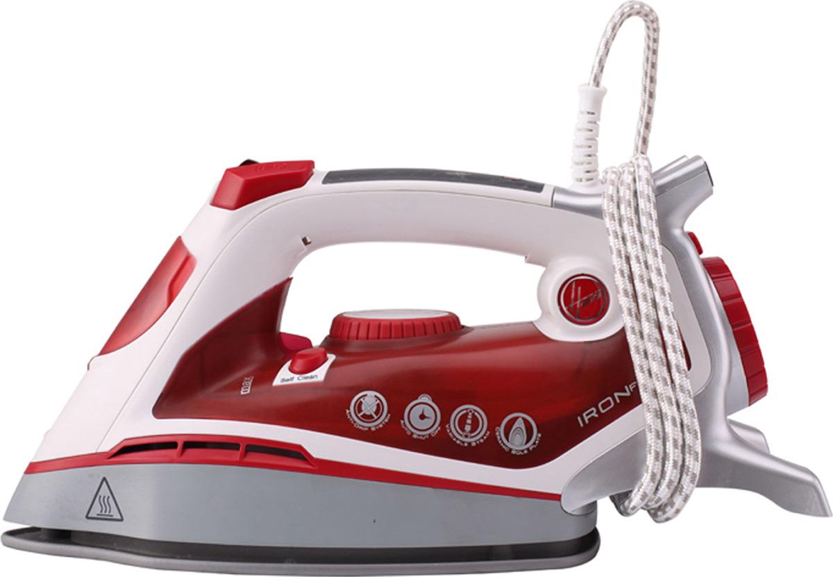 Утюг Hoover TIF2800/1 011, красный, белый цена и фото