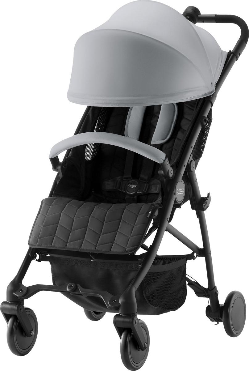 Коляска прогулочная Britax B-Lite Steel, 2000027380, серый прогулочная коляска britax b lite lgoon green