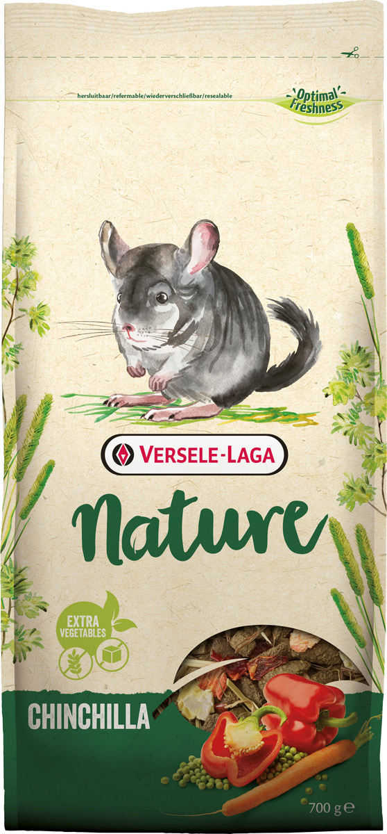 Корм сухой Versele-Laga Nature Chinchilla, для шиншилл, 700 г