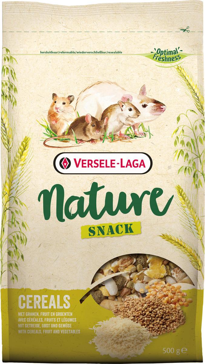 Корм сухой Versele-Laga Nature Nature Snack Cereals, для грызунов со злаками, 500 г хранителни добавки fitness 1