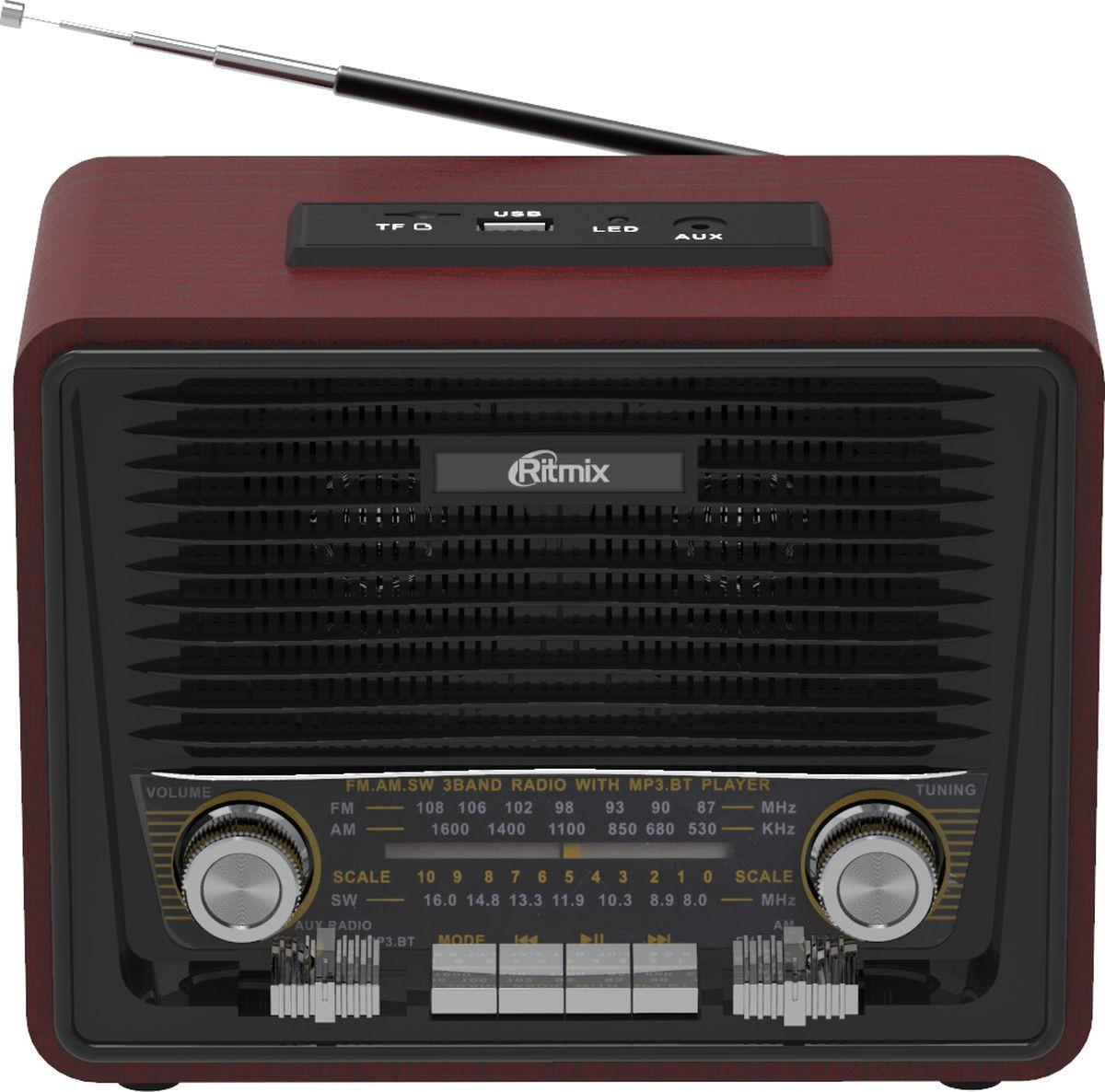 Радиоприемник Ritmix RPR-088, black