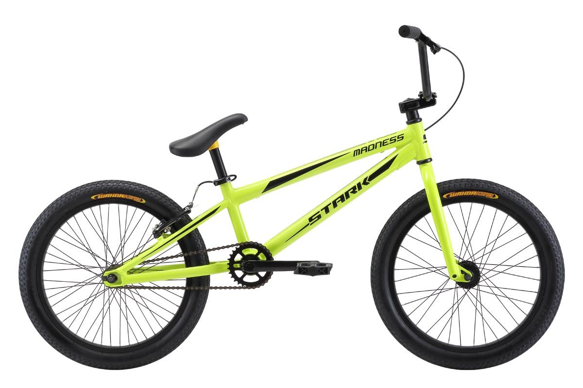 Велосипед STARK Madness BMX Race 2018, желтый, черный
