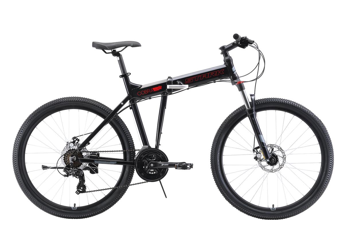 Складной STARK Cobra 26.2 D 2019, красный, серый, серый металлик, черный цены