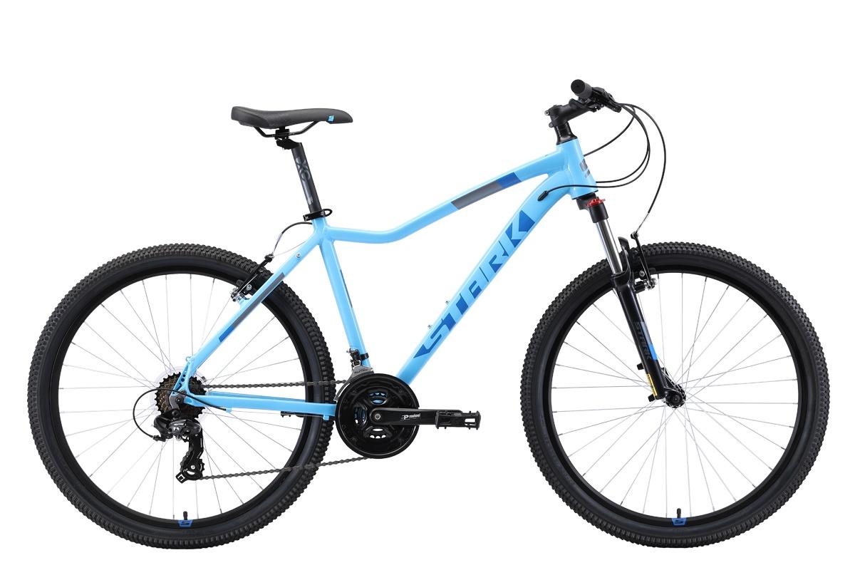 Женский велосипед STARK Viva 26.2 V 2019, бирюзовый, голубой велосипед stark viva 27 4 hd 2019