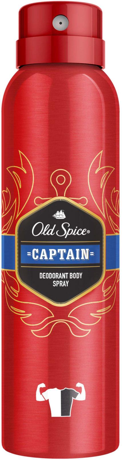 Дезодорант Old Spice Captain, аэрозоль, 150 мл