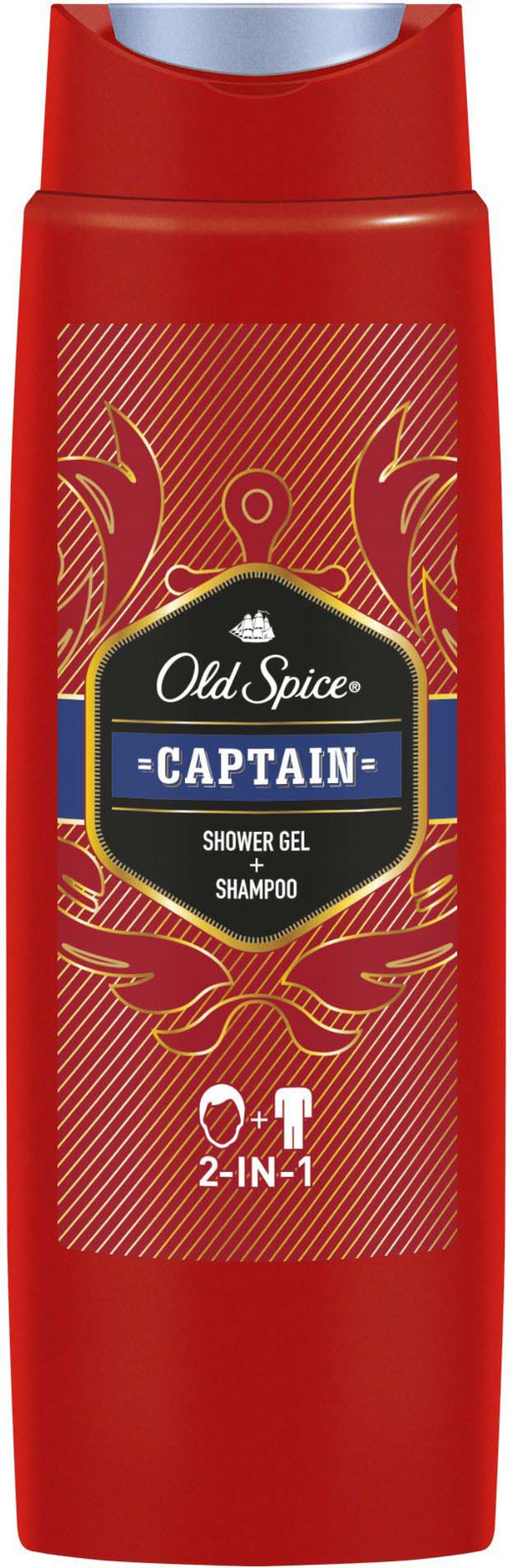 Гель для душа Old Spice Captain 2 в 1, 250 мл пена для бритья old spice