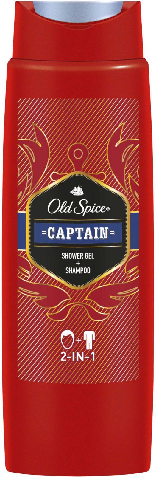 Гель для душа Old Spice Captain 2 в 1, 250 мл