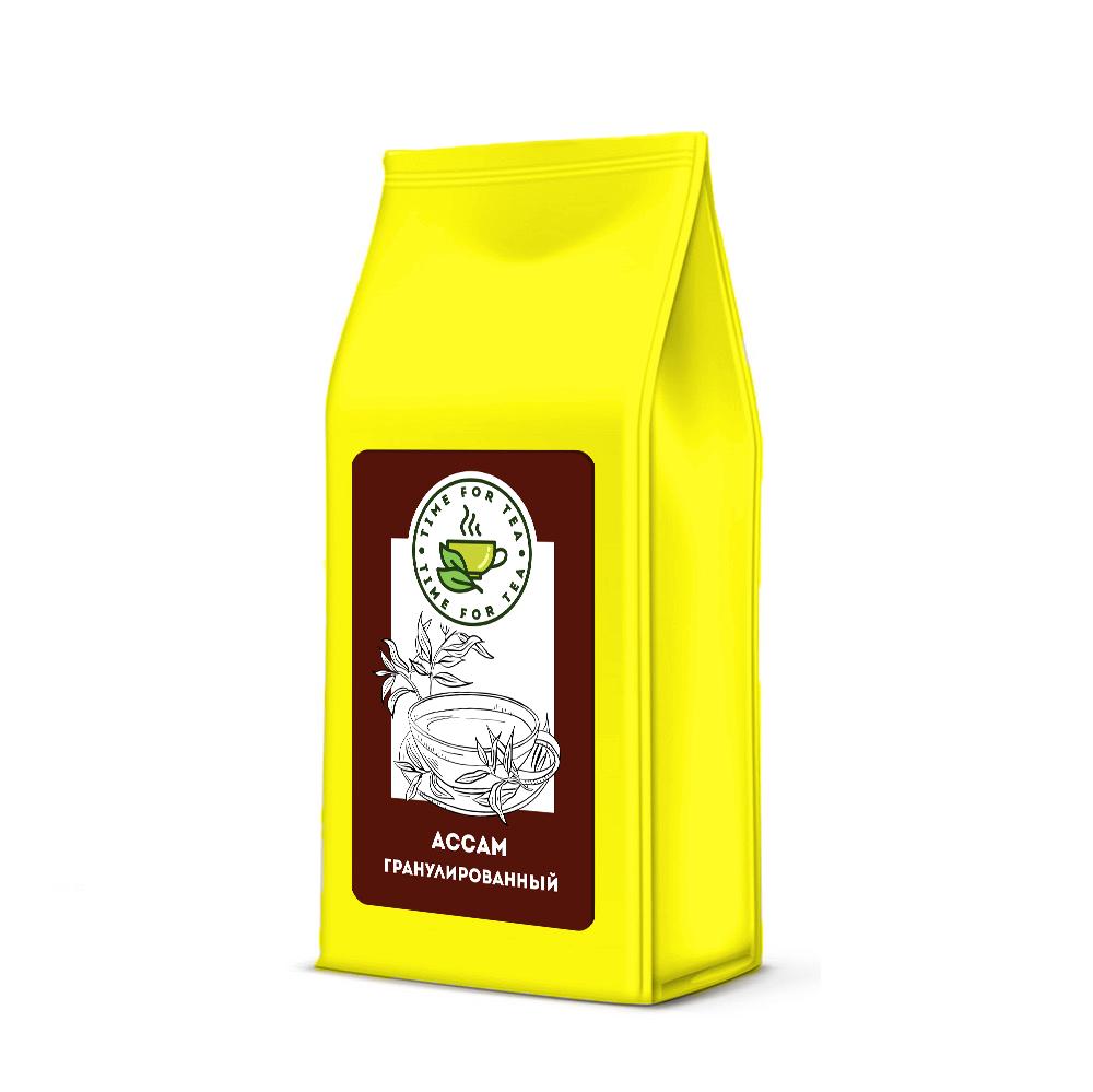 Чай листовой Время Чая Ассам Гранулированный, 250 чай листовой время чая клубничный eco premium 250
