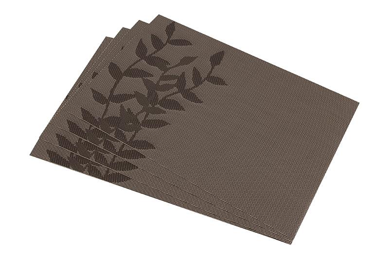 <b>Салфетка</b> столовая <b>Elan Gallery Ветви</b>, коричневый — купить в ...