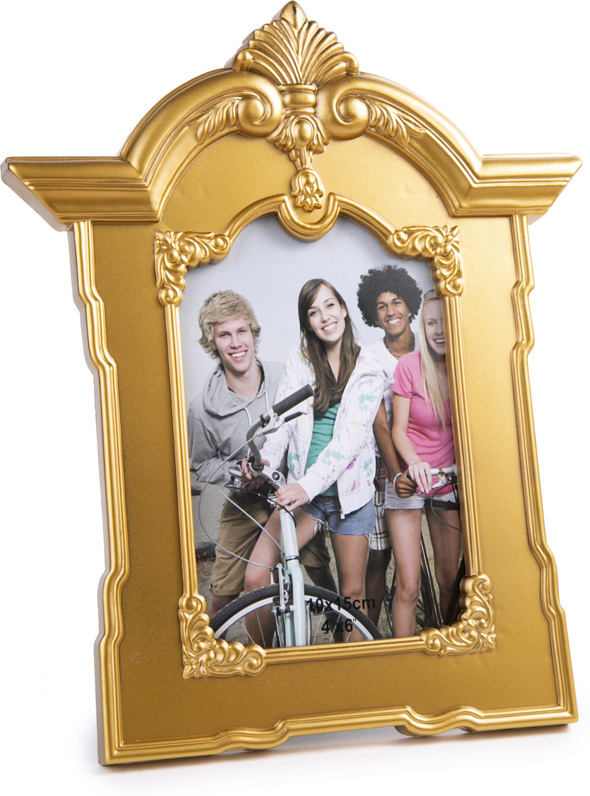 """Фоторамка Magic Home """"Нежные узоры"""", 79708, золотой, 10 х 15 см"""